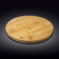 Бамбуковое блюдо Wilmax Bamboo WL-771079 (30,5х4см)