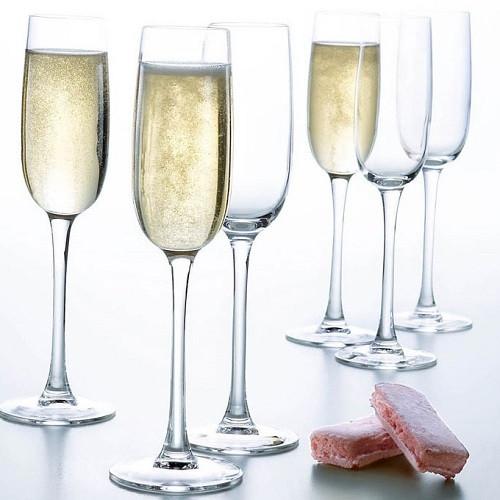 Набор бокалов для шампанского Luminarc Versailles 6 шт G1484 (160мл)