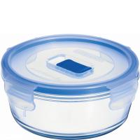 Круглый пищевой контейнер Luminarc Pure Box Active H7682 (670мл)