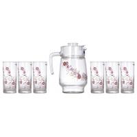 Кувшин со стаканами Luminarc Juliet N0825 (кувш.1,6л,стак.270мл-6шт)-7пр