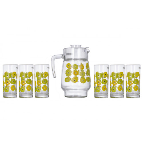 Кувшин со стаканами Luminarc Meline L2419/N0826 (кувш.1,6л,стак.270мл-6шт)-7пр