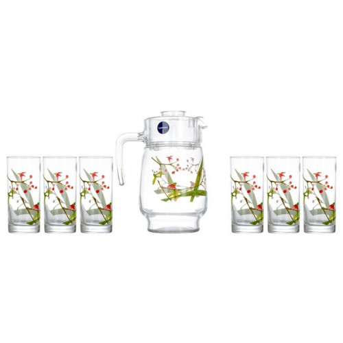 Кувшин со стаканами Luminarc Beatitude N3564 (кувш.1,6л,стак.270мл-6шт) - 7пр