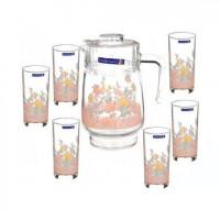 Кувшин со стаканами Arcopal Elise N3216 (кувш.1,3л,стак.310мл-6шт)-7пр