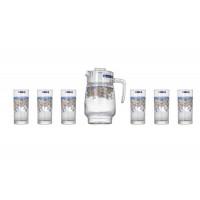 Кувшин со стаканами Arcopal Florine N3215 (кувш.1,3л,стакан.310мл-6шт)-7пр