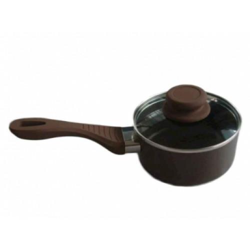 Ковш с крышкой Lessner Chocolate Line 88364-14 (D=14см)
