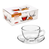 Чайный сервиз Pasabahce Basic 12 предметов 97948 (215мл)