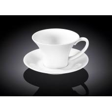 Набор чашек с блюдцами для капучино Wilmax WL-993169 (180мл)