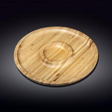 Набор бамбуковых блюд Wilmax Bamboo WL-771047 (25см-2 секции)