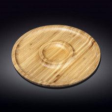Набор бамбуковых блюд Wilmax Bamboo WL-771048 (30,5см-2 секции)