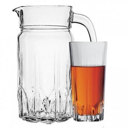 Кувшин со стаканами Пашабахче Карат 97045 (1870мл)