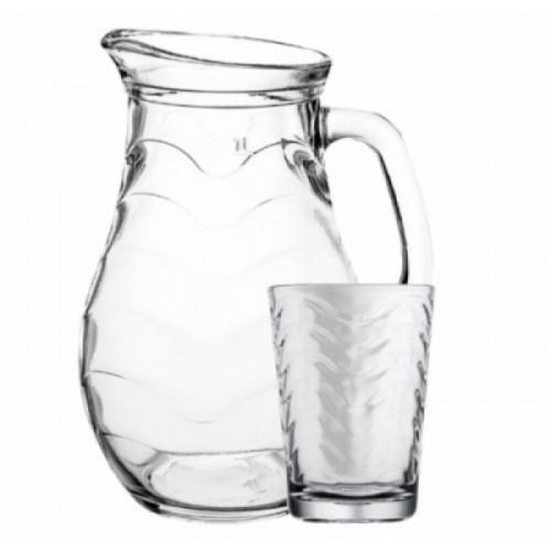 Кувшин со стаканами Pasabahce Торос 97152 (1000мл) - 7 предметов
