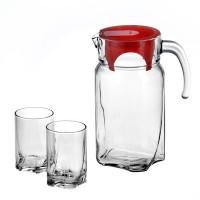 Набор кувшин со стаканами Пашабахче Луна 97328 (1700мл)