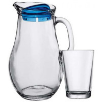 Кувшин со стаканами Пашабахче Бистро 97346 (1,85л)