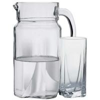 Набор кувшин со стаканами Пашабахче Луна 97440 (1700мл)