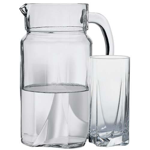 Набор кувшин со стаканами Pasabahce Луна 97440 (1700мл)- 7 пр