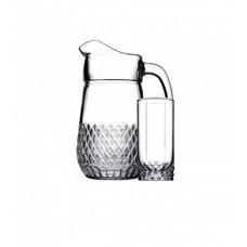 Кувшин со стаканами Пашабахче Вальс 97675 (1,34л) - 7пр