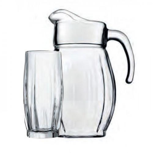 Кувшин со стаканами Пашабахче Данс 97874 (2000мл)