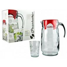 Кувшин со стаканами Пашабахче Спейс 98678 (1,65л)