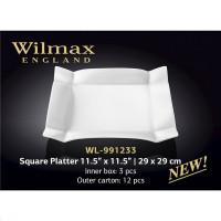 Блюдо квадратное Wilmax WL-991233 (29x29см)