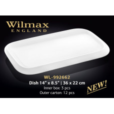 Набор блюд Wilmax 3 шт WL-992662 (36х22см)