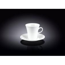 Чашка с блюдцем для кофе Wilmax WL-993005 (160мл)