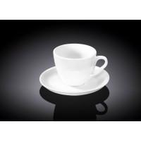 Чашка с блюдцем для кофе Wilmax WL-993173 (75мл)