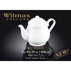 Заварочный чайник в подарочной упаковке Wilmax WL-994019 (1150мл)
