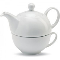 Набор заварочный чайник и чашка Wilmax WL-994048 (чайник 375мл,чашка 340мл)-2пр