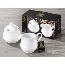 Набор сахарница и молочник в подарочной упаковке Wilmax WL-995024 (сахарница 340мл,молочник 300мл)-2пр