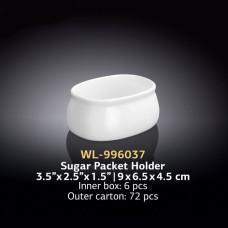 Набор подставок для порционного сахара Wilmax WL-996037 (9х6,5х4,5см)