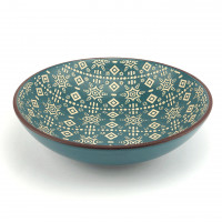 Глубокая тарелка Astera Engrave Blue A0440-HP21-SP (20см)