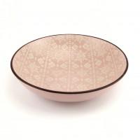 Тарелка глубокая Astera Engrave Pink A0440-HP22-SP (20см)