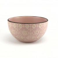 Салатник Astera Engrave Pink A0450-HP22-B (14см)