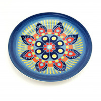 Тарелка десертная Astera Arabesco Sapphire A0470-DE 144-S3 (21,5см)
