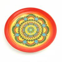 Тарелка десертная Astera Arabesco Amber A0470-DE 144-S4 (21,5см)