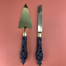 Набор  лопатка для торта и нож Винтаж 2 предмета 16094-17