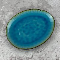 Тарелка Abra JM0954T голубая лагуна 27 см