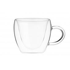Набор чашек с двойными стенками Ardesto 2 шт AR2625GHL (250мл)