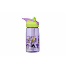 Бутылка для воды Ardesto Funny Animals детская 500 мл,зеленая,тритан AR2201TA