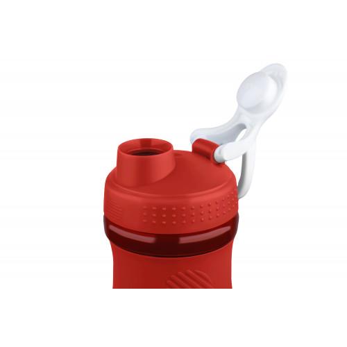 Бутылка для воды Ardesto Smart bottle 600 мл AR2202TR, красная ,тритан