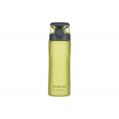 Бутылка для воды Ardesto AR2205PG 600 мл, зеленая, пластик
