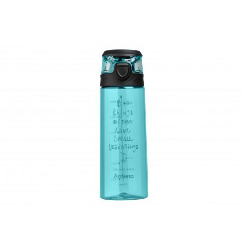 Бутылка для воды Ardesto Big things 700 мл, голубая, пластик AR2206PB