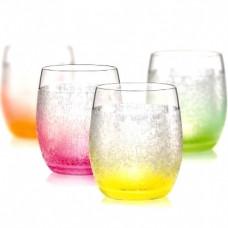 Набор низких стаканов Bohemia Neon Frozen 4 шт b25180-D4939 (300мл)