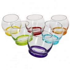 Набор низких стаканов Bohemia Crazy 6 шт b25250-D4718 (390мл)