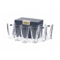 Набор стаканов для воды Bohemia Quadro 6 шт b2k936-99A44 (350мл)