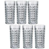Набор высоких стаканов Bohemia Diamond 6 шт b2KE38-99T41 (260мл)