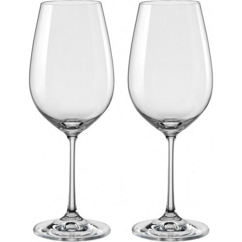 Набор бокалов для вина Bohemia Viola 2 шт b40729 (450мл)