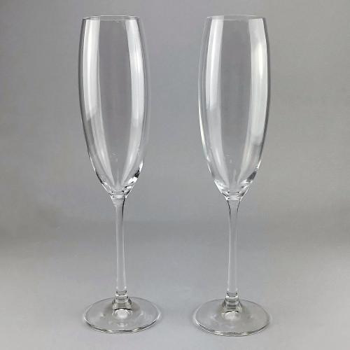 Набор бокалов для шампанского Bohemia Grandioso 2 шт b40783 (230мл)