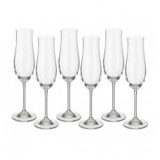 Набор бокалов для шампанского Bohemia Attimo 6 шт b40807 (180мл)