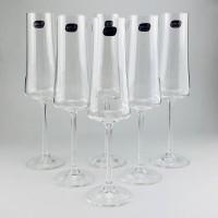 Набор бокалов для шампанского Bohemia Extra 6 шт b40862 (210мл)